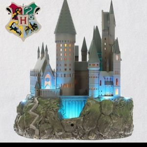 Harry potter hogwarts castle tree topper